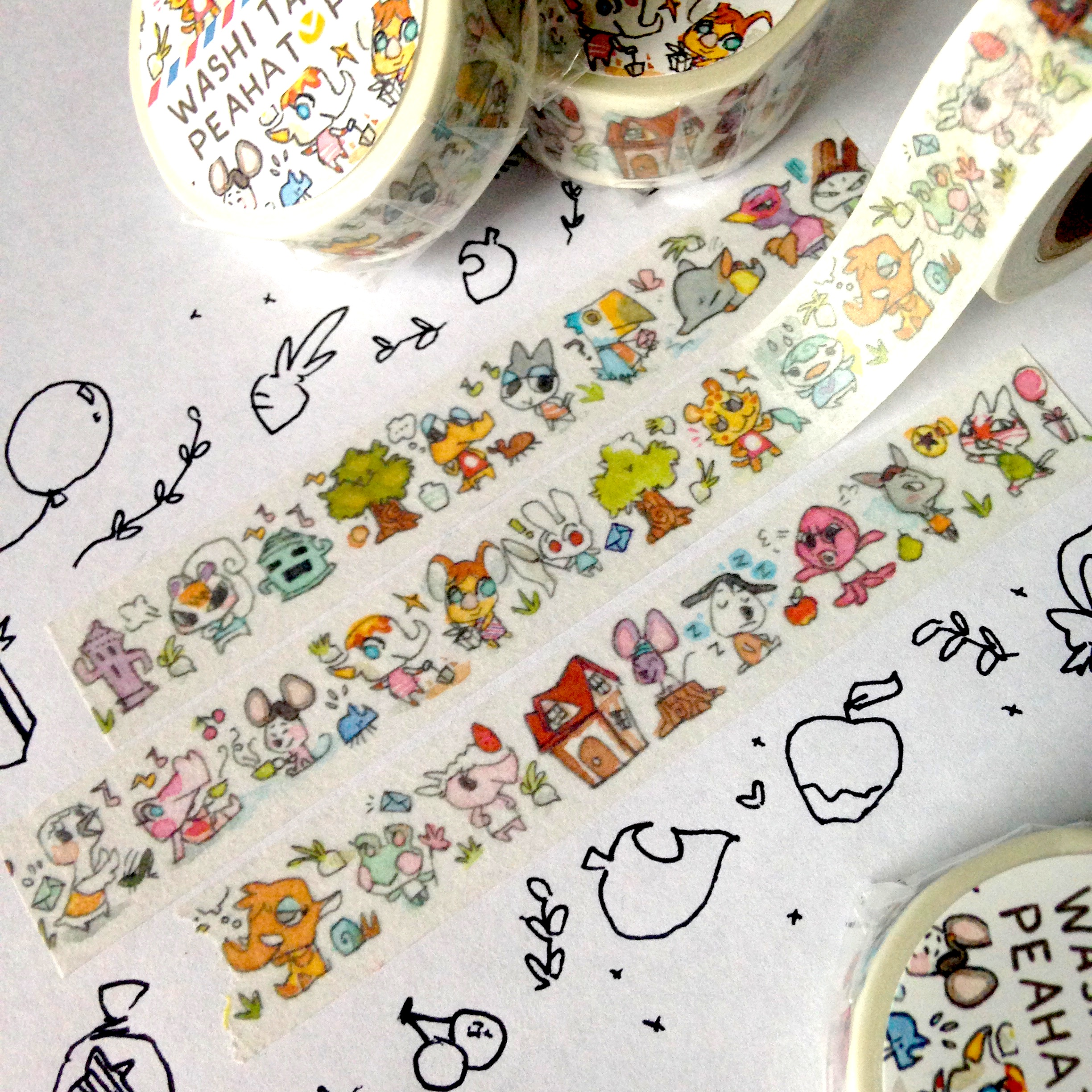 Washi Tape Animal Crossing Washi Tape A Peahat Post A Online Store Powered By