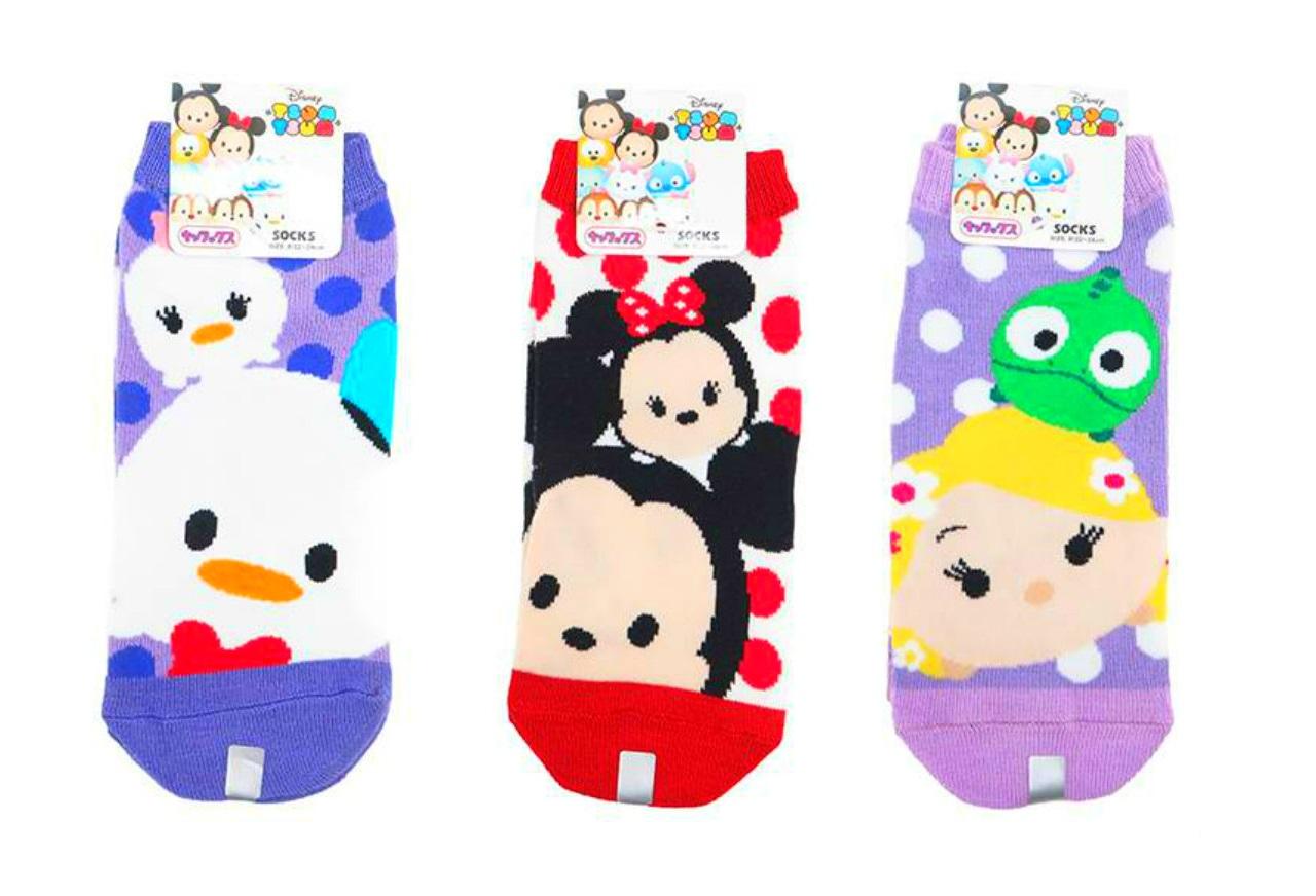 Tsum Tsum Socks Women Mickey Mouse Donald Duck Rapunzel