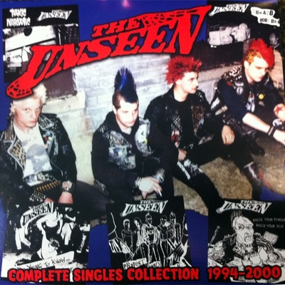 The unseen: singles collection 2xlp gatefold. (way out of print)