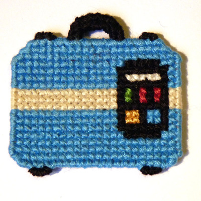 Tf2 intel; cross stitch magnet