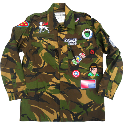 Camouflage field jacket - dutch military x american anarchy brand