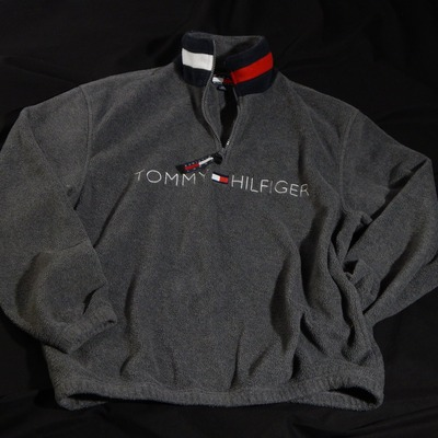 Tommy hilfiger half zip pullover size small