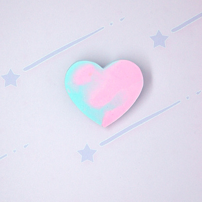 Marble pastel heart♡05
