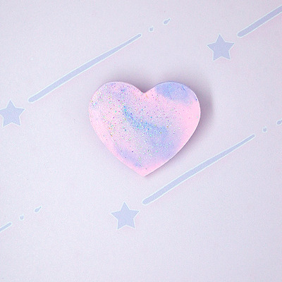 Marble pastel heart♡04