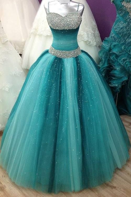 colorful prom dress,ball gown prom dress,long prom dress ...
