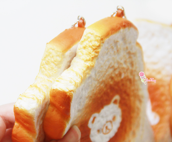 Rilakkuma Jumbo Bitten Toast Squishies (Scented) ? Uber Tiny ? Online Store Powered by Storenvy