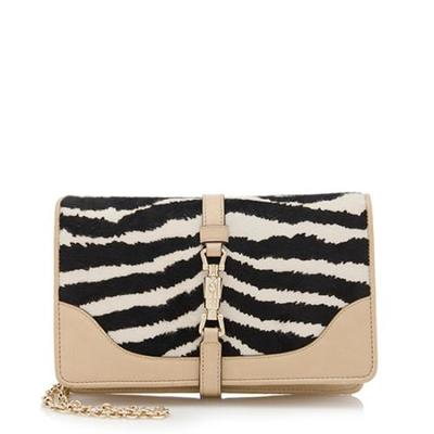 Gucci calf hair shoulder bag