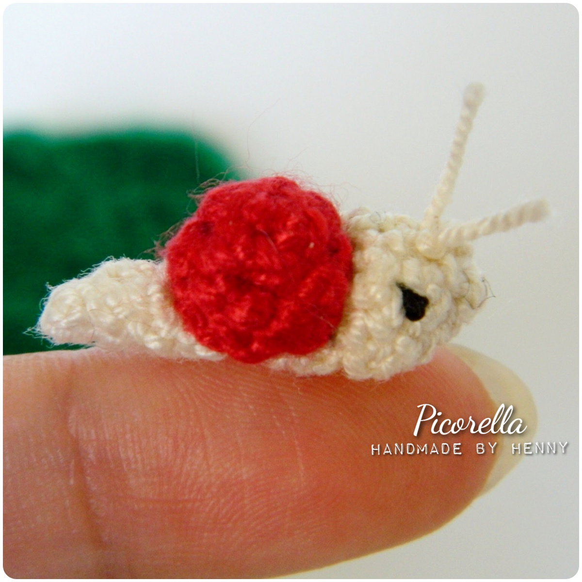 Mini Snail Amigurumi, Amigurumi Snail, Miniature Snail ...