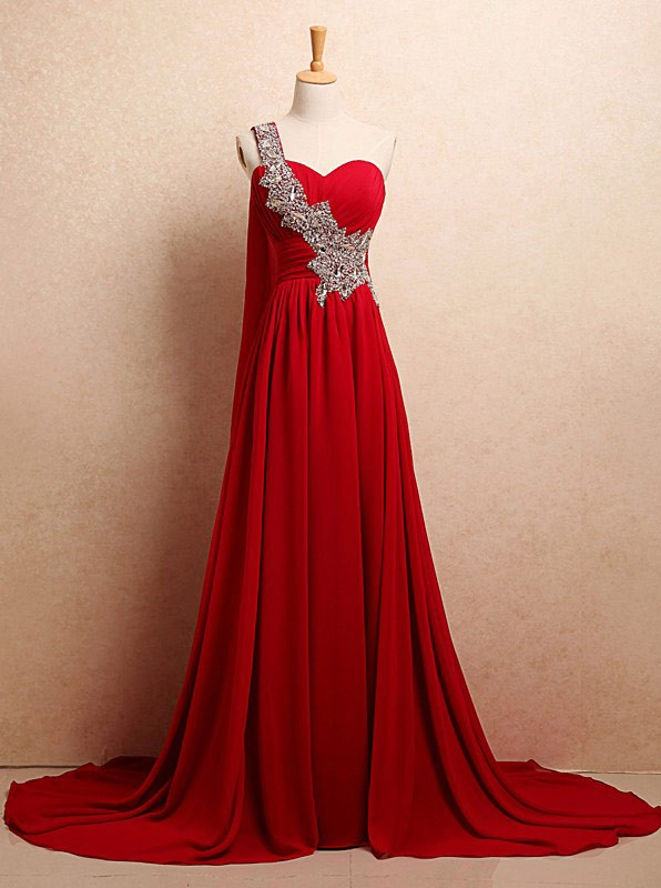Red Sweetheart Mermaid Dress