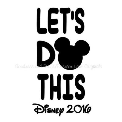 Let's do this disney vacation shirt