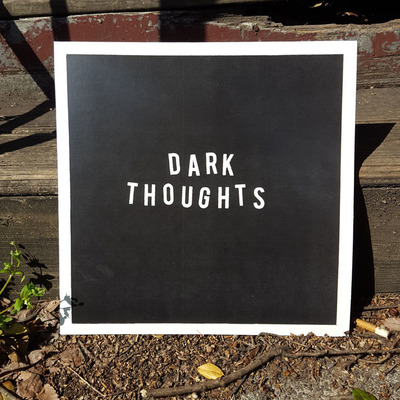 "Dark thoughts ""dark thoughts"" lp"