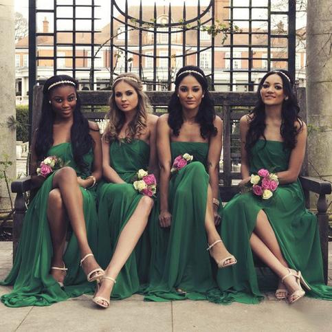 Emerald Bridesmaid Dresses
