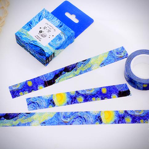 Design Your Own Ice Cream Cake : Van Gogh Starry Night Masking Tape ? Ice Cream Cake ...
