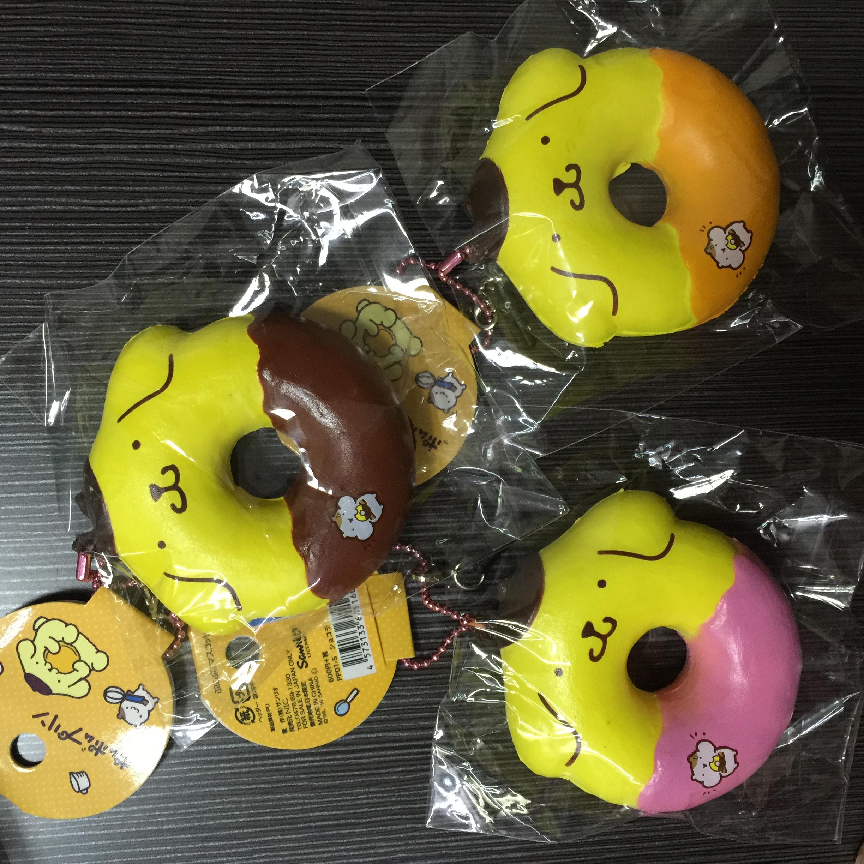 Donut Squishy Collection : ~SquishyStuff~ Sanrio Licensed Pum Pum Purin Donut Squishy Online Store Powered by Storenvy