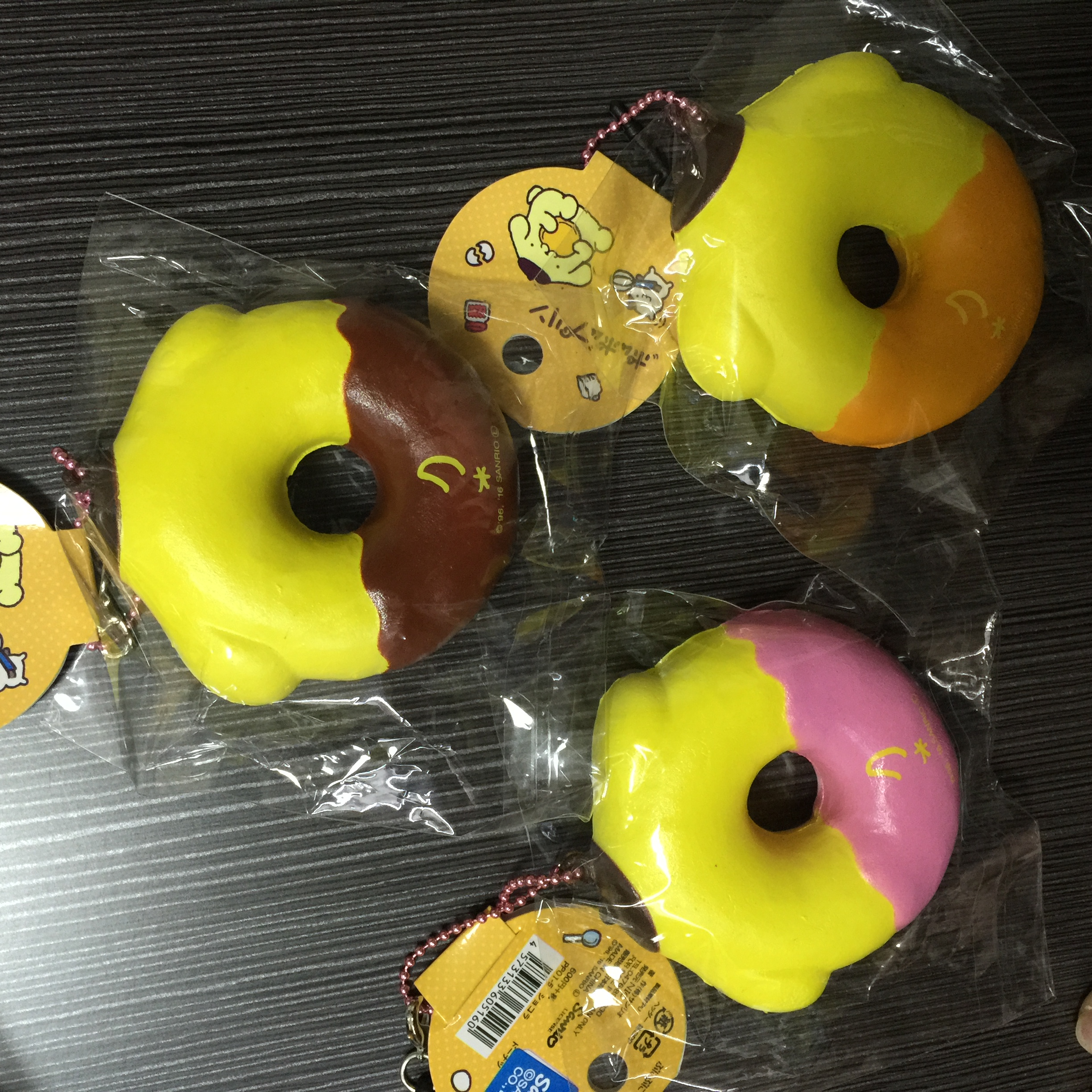 ~SquishyStuff~ Sanrio Licensed Pum Pum Purin Donut Squishy Online Store Powered by Storenvy