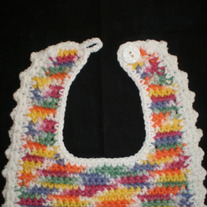 Baby Bib Crayon Colors
