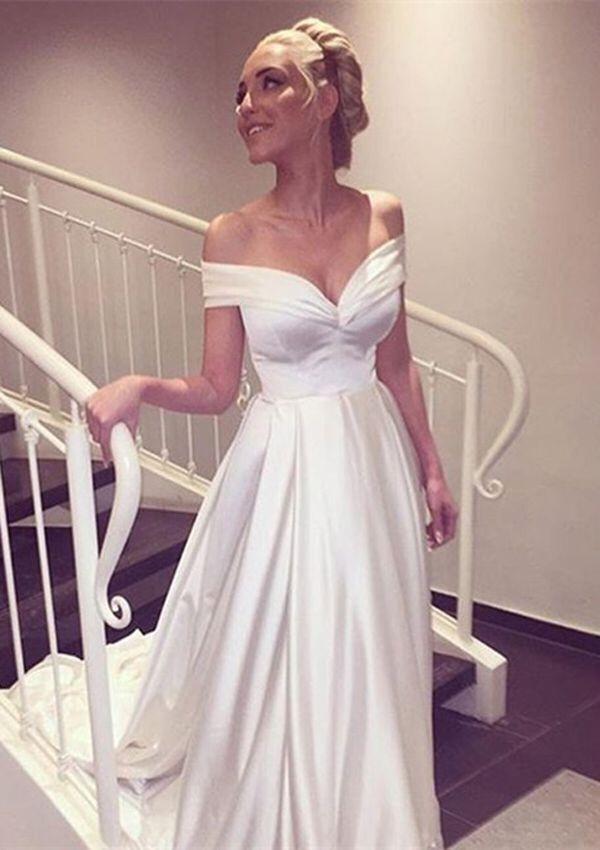 Wedding dresses,bridal gown,off shoulder wedding dresses,stunning ...