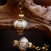 Golden Lantern Atlantic Dangle Earrings