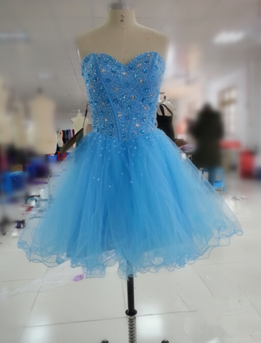 Solo Dress Blue Homecoming Dress,Short Prom Dresses,Homecoming Gowns ...