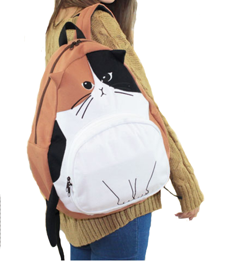 Cat Shaped Backpack On Storenvy