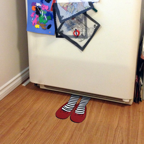 No Place Like Home, Wicked Witch Of The East Floor Decal