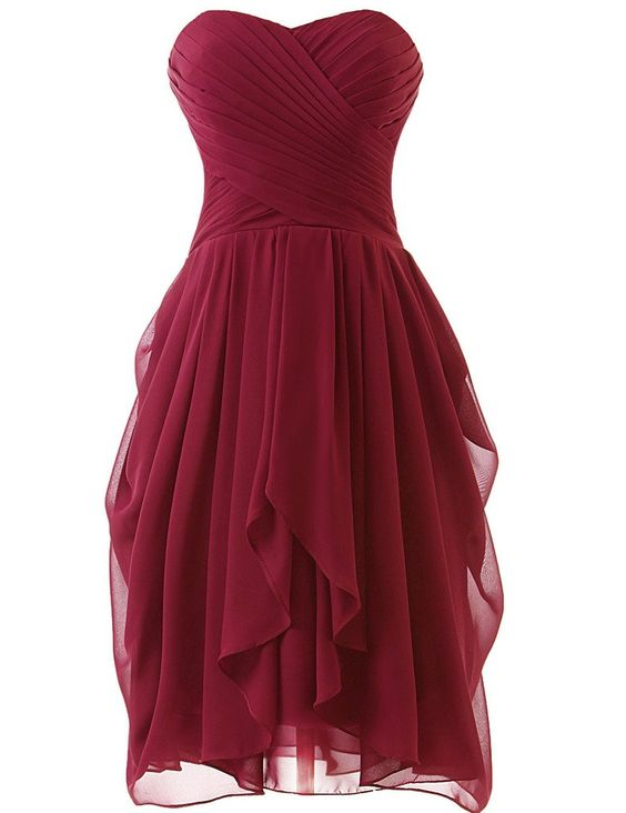 royal blue prom dress,simple Prom gowns short wine red Homecoming ...