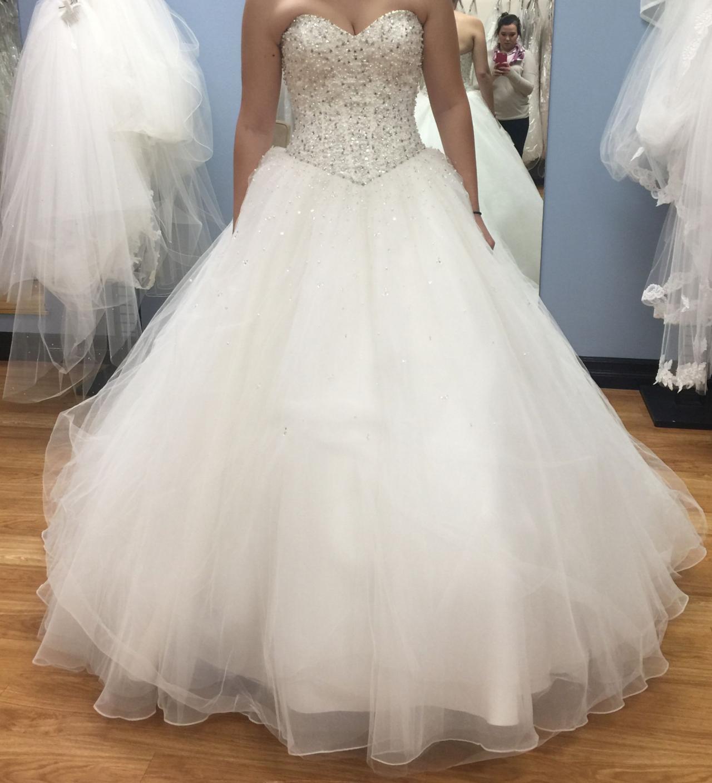 WD32 Beading Ball Gown Wedding Dresses,Wedding Dress Custom Made ...