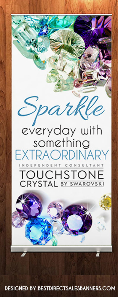 Touchstone Crystal By By Swarovski Retractable Banner 1