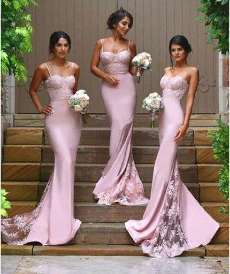 Lace Mermaid Bridesmaid Dresses, Sexy Long Bridesmaid Dresses, Custom Bridesmaid  Dresses, Bridesmaid Dresses