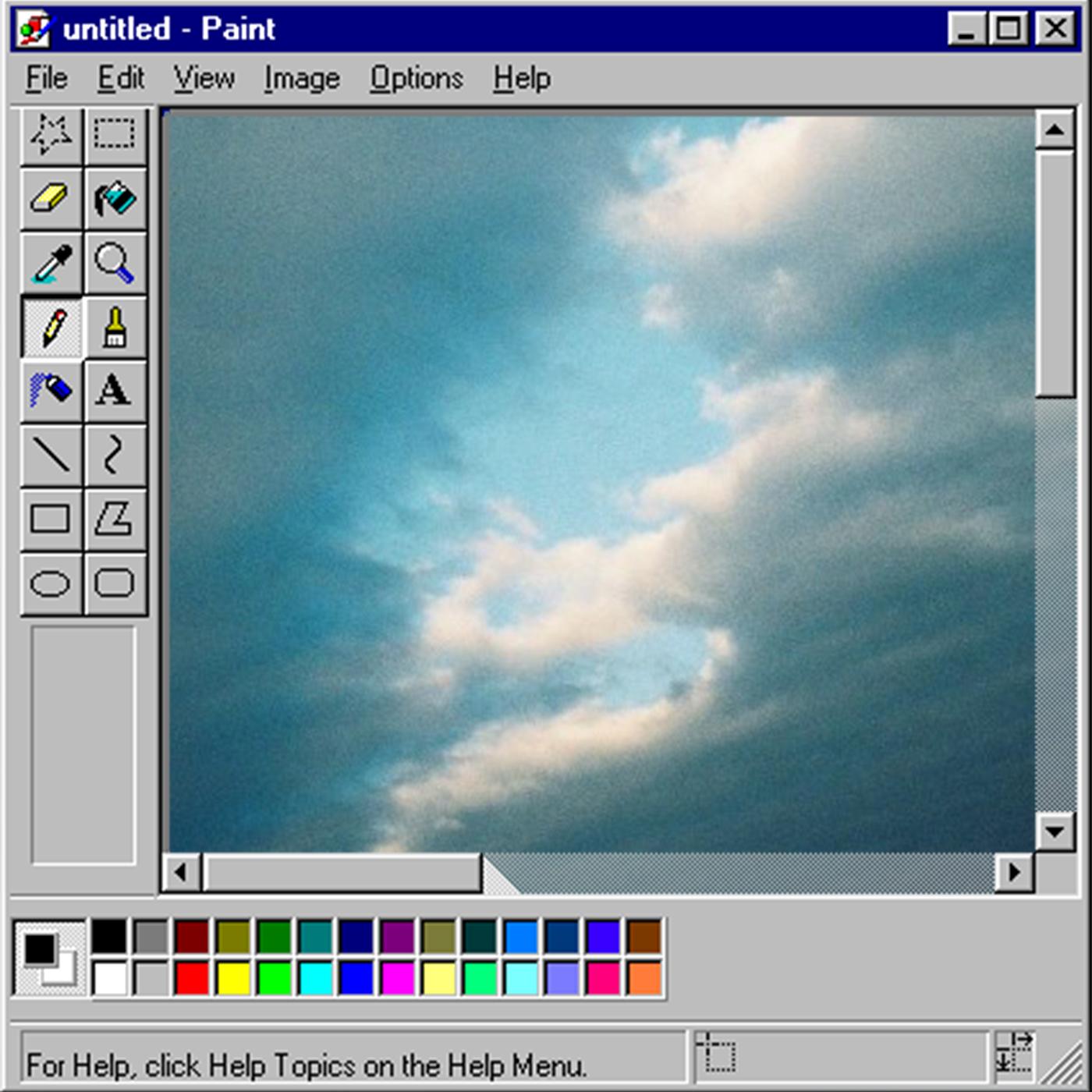 Как сделать фото круглой формы в paint