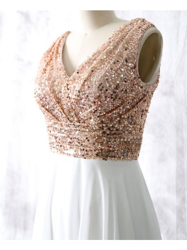 Rose Gold Bridesmaid Dresses Cheap