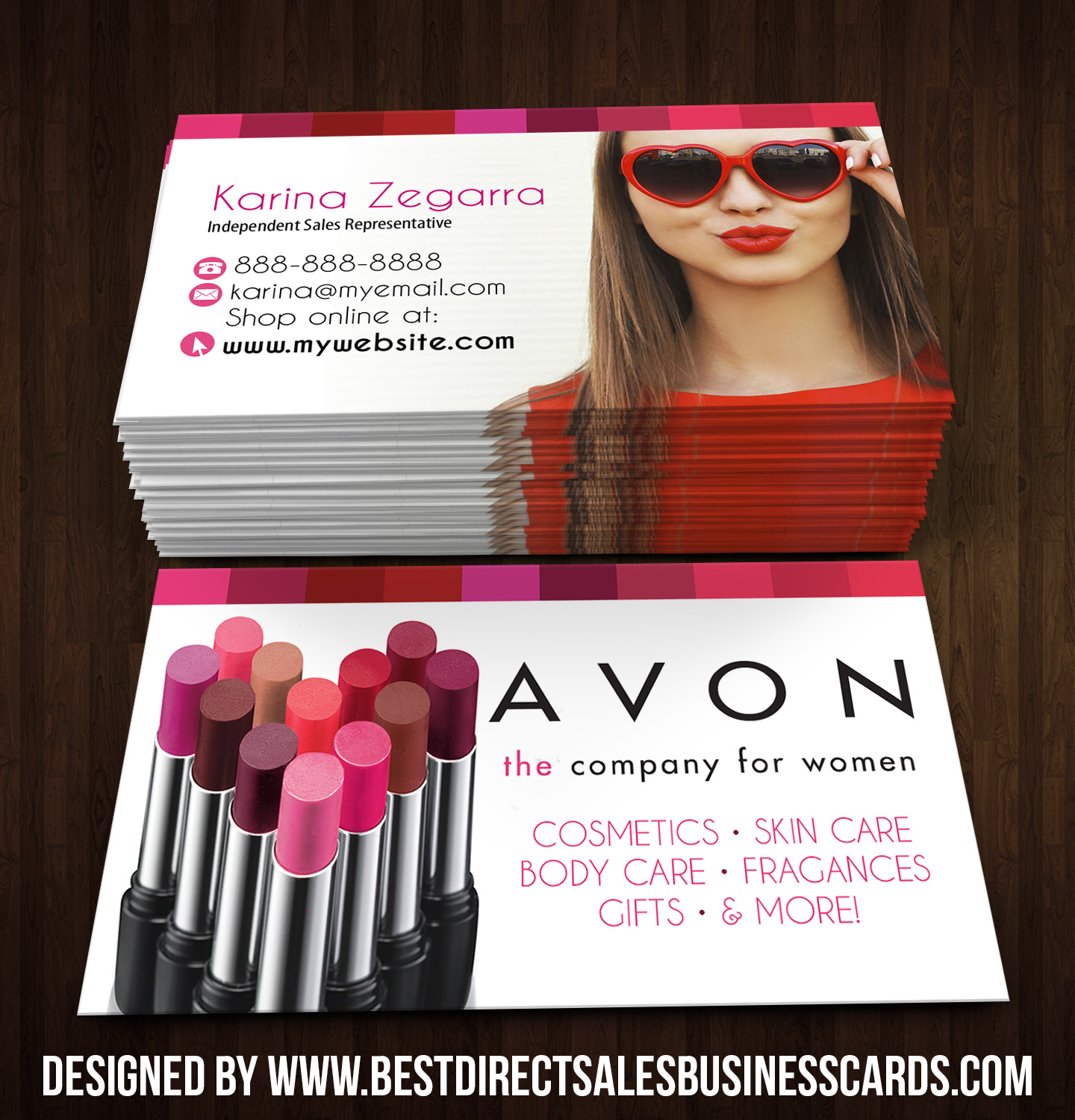 Avon Business Cards style 6 · KZ Creative Services · line Store