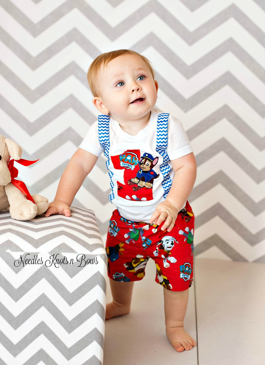 Boys Paw Patrol Birthday Outfit First Shorts Second
