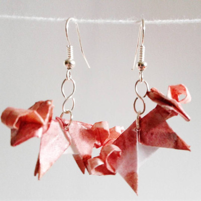 Origami Pokeball Earrings Quantum Seahorse Online Store Powered