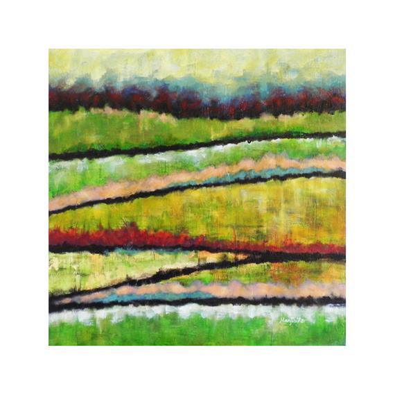 Acrylic Painting Meadows 2 Original Acrylic Painting