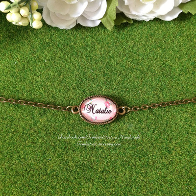 "Customise your ""natalie"" bracelet"