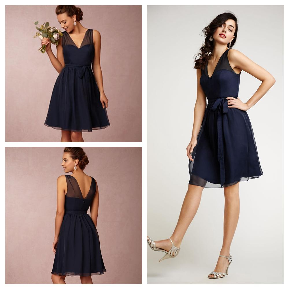Formal High Neck and Short Flowy Dresses