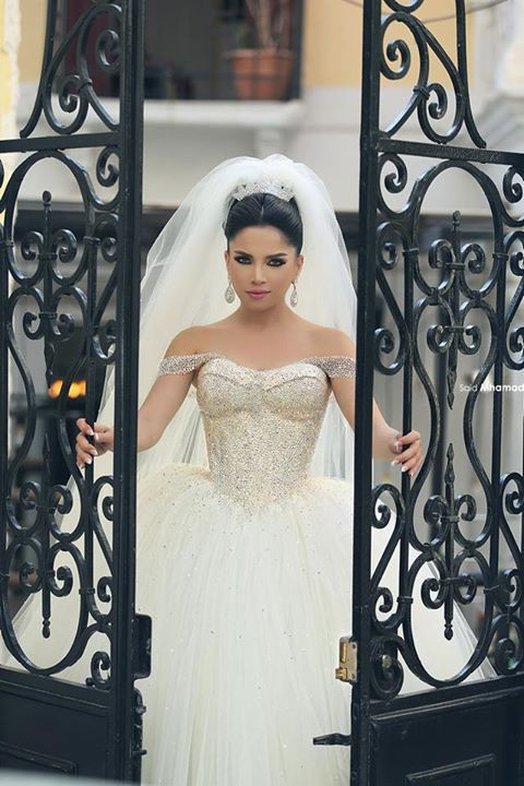 A225 Luxury Ball Gown New Style Wedding Dresses 2016 Tulle Skirt Off ...