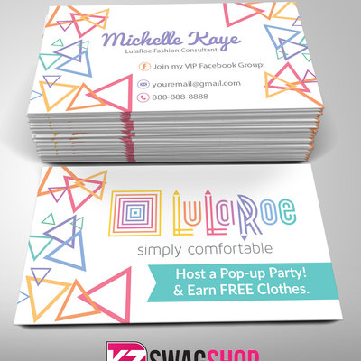 LulaRoe Business Cards - 4 · KZ Creative Services · Online Store ...