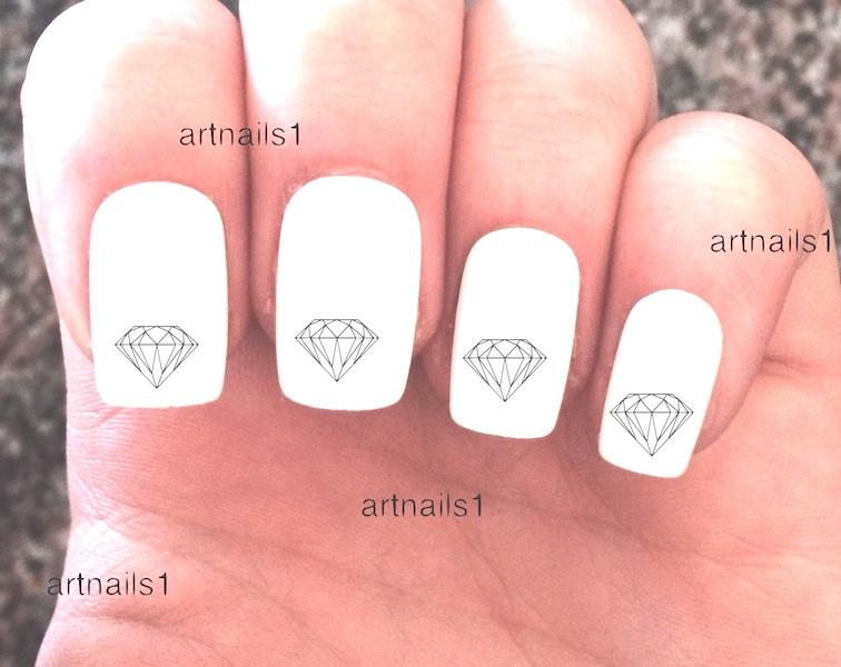 Diamond Nail Art Nails Polish Manicure Cosplay Costume Mani Pedi ...