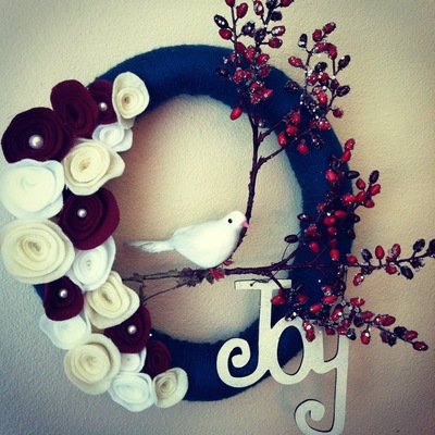 Imogene joy wreath