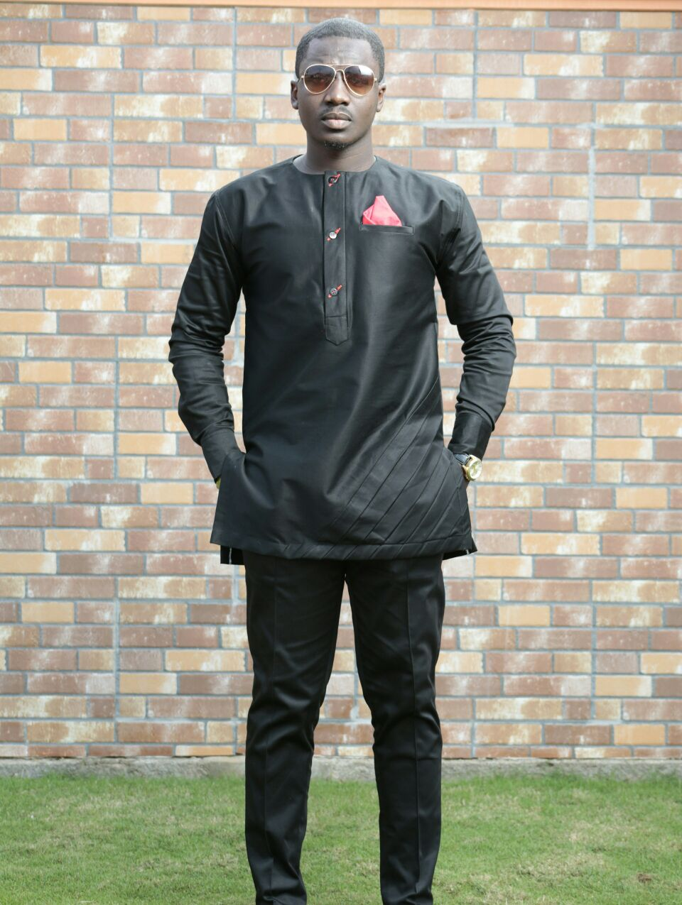 black african men
