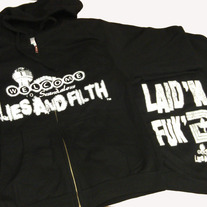 LIES AND FILTH HOODIE