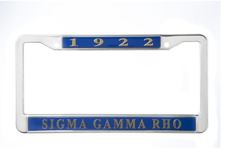 Metal License Frame 183 Greek Certiphied Apparel 183 Online