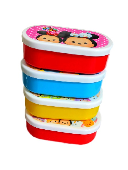 disney tsum tsum lunch box plastic container japan kawaii bento supplies kawaii surprises. Black Bedroom Furniture Sets. Home Design Ideas