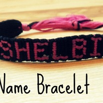 Custom Name Friendship Bracelet