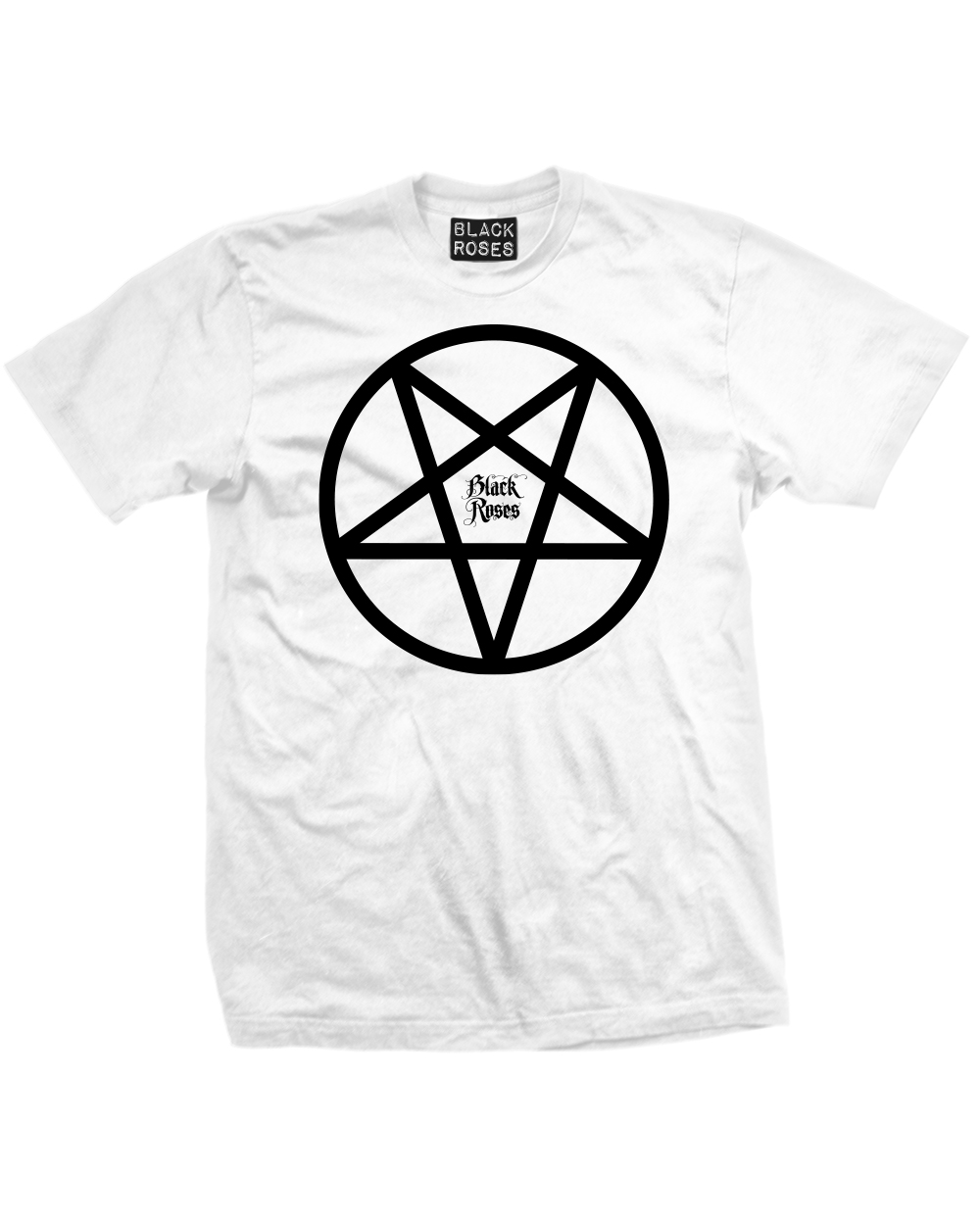 Back in black t shirt - Back In Black Pentacle Mens Tee Shirt White