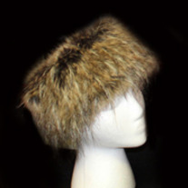Raccoon Faux Fur Headband
