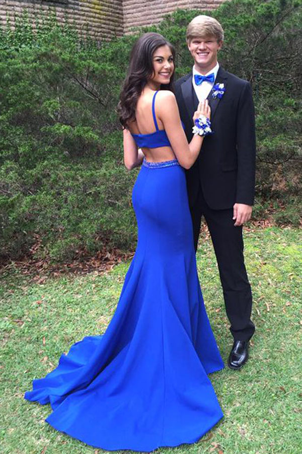 A390 Prom Gown,Royal blue Prom Dresses,Evening Gowns,Formal Dresses ...