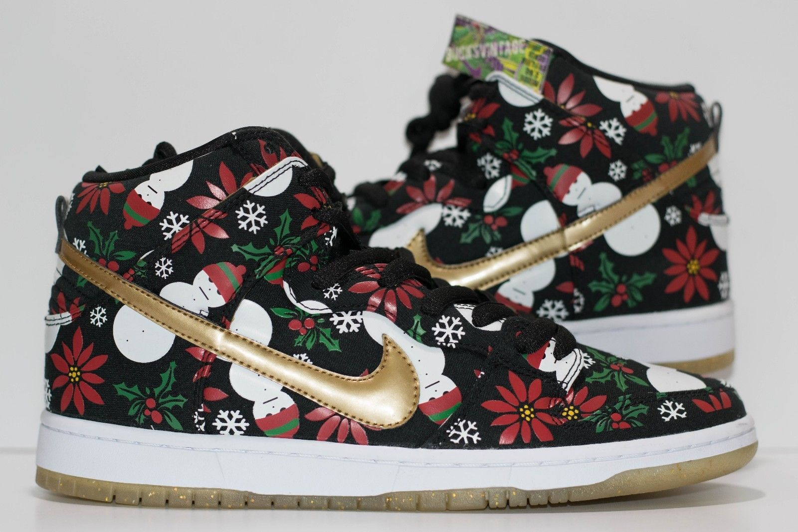 Size 10 | 2013 Nike Dunk SB X CONCEPTS BLACK Ugly Christmas Sweater ...